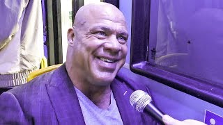 'Tyson Fury was 10/10' Olympic & WWE legend Kurt Angle on 'The Gypsy King' in wrestling