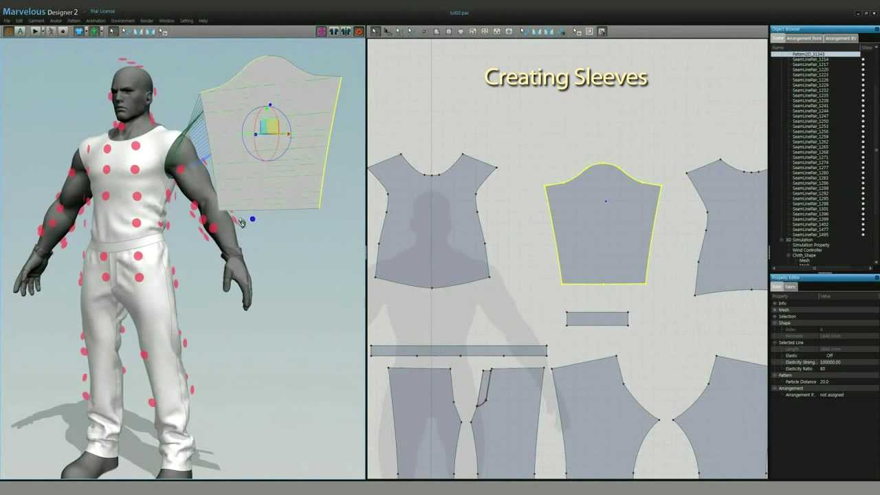 Male Clothing Designer Game Game Character Clothing Design