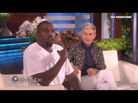 Kanye West Stuns Ellen DeGeneres With Epic Rant