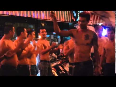 The Boys in Boys Town. Pattaya Thailand