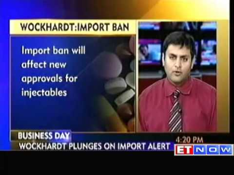 Wockhardt Tanks on USFDA Import Alert on its EoU Facility