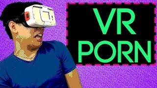 College Students try VR Horror and Porn