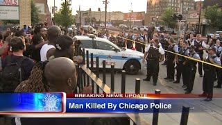 Protests Erupt In Chicago After Harith Augustus Is Fatally Shot By Police