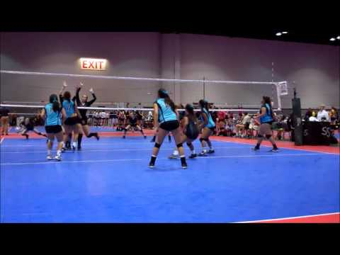 Oahu Volleyball Club's 17 Open Team at the 2013 AAU Junior National Volleyball Tournament klip izle