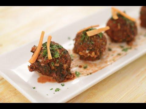 Vegetarian  Meatballs | Sanjeev Kapoor Khazana