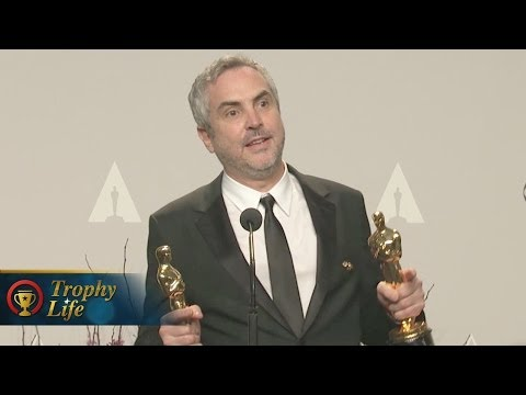 Alfonso Cuarón Best Director - Oscars 2014 Press Interview