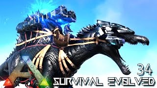 ARK: SURVIVAL EVOLVED - TEK SPINO TAMED SPINEBREAKER BOSS !!! E34 (MODDED ARK PUGNACIA DINOS)