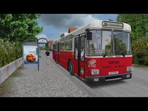 OMSI - AddOn Vienna - Line 24A Kagran-Invalidensiedlung