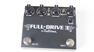 Fulltone Fulldrive 3 Class A Input