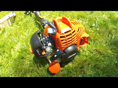 Echo Srm 225 Weed Trimmer Review Hd Youtube