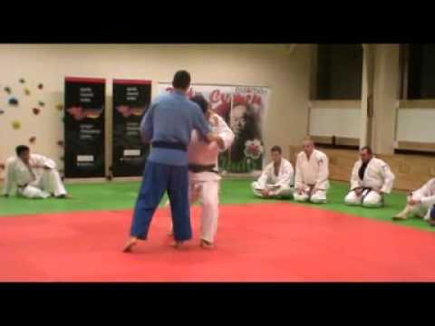 Judo - O-soto-gari demonstrated by Kosei Inoue (JPN) Image 1