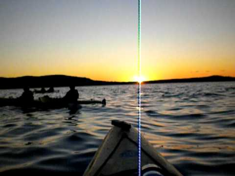 Bar Harbor, ME Sunset Kayak Tour 7/24/2011