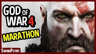 God Of War 4 Gameplay - GOD OF WAR MARATHON - (God of War 4 Gameplay PS4)