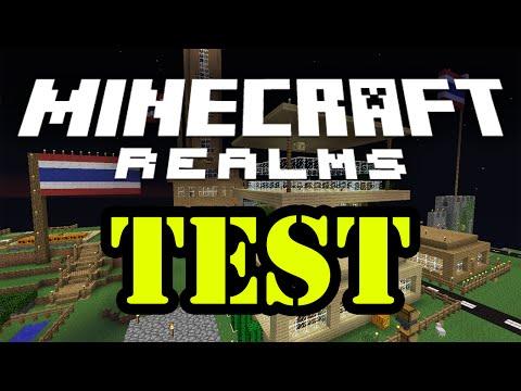Tackle⁴⁸²⁶ Minecraft Realms Test Lag & 1.8 Update [ทดสอบความ Lag]