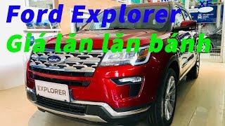 Video giới thiệu Xe Ford Explorer màu Đỏ ✅ - giá Ford Explorer Khanh Ford