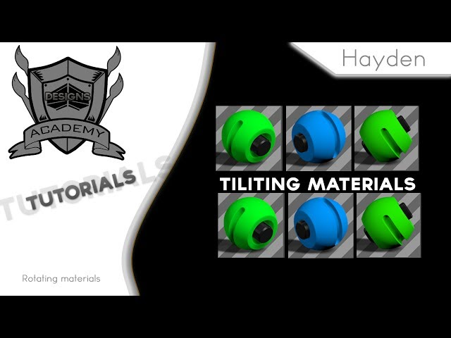 Tilting Materials | w/ Hayden
