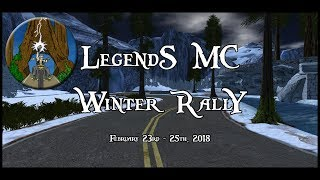 Legends MC Winter Rally Hot Pursuit Smokey & Bandit Second Life