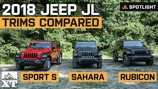 2018 Jeep Wrangler JL Trims Explained | Differences Between Sport, Sahara, and Rubicon