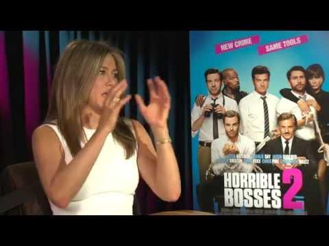 Jennifer Aniston habla sobre Horrible Bosses 2 con Alex Medela