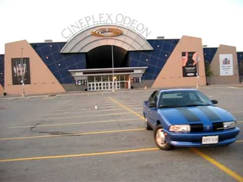 Achieva outside the Cineplex Odeon on Queensway. Fun fact: In the movie Harold And Kumar Go To White Castle, Harold remembers there is a White Castle by the