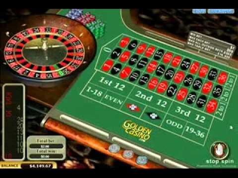 Roulette big win video
