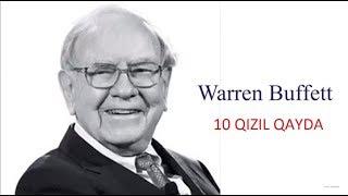 Warren Buffett 10 QIZIL QAYDA (Varlı Olmaq istəyənlər) Warren Buffett - HBO Documentary HD #Advexon