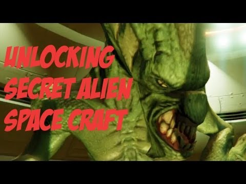 GTA 5: Unlocking the Alien Space Craft (Collecting all 50 Space Ship Parts) HD