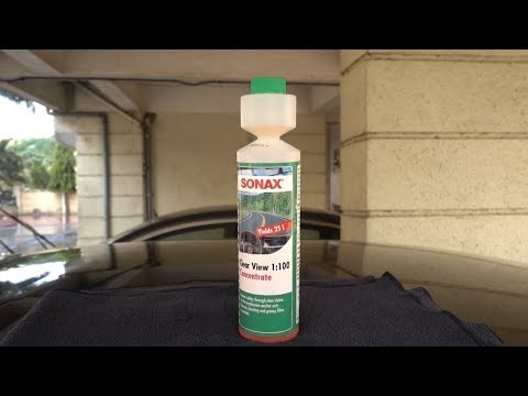 Sonax Clear View 1:100 Concentrate | Wiper Wash Fluid Concentrate | Complete Guide | Autozeel.com