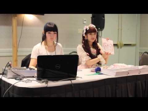 Anime North 2014: Misako Aoki Lolita Fashion Book Panel, Part 1