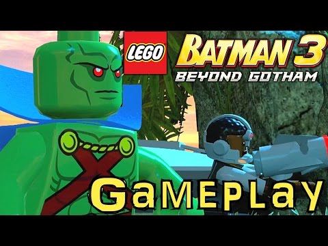Lego Batman 3: Beyond Gotham - New Gameplay Analysis | How ...