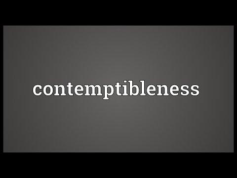 Header of contemptibleness