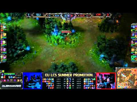 Copenhagen Wolves vs Samurai In Jeanse Game 4/4 LCS 2013 EU Summer Promotion Matches
