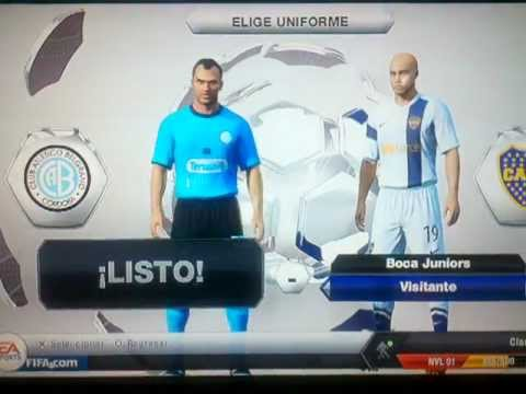 Torneo Final Liga Argentina Fifa 13 Ps3 (parte1)
