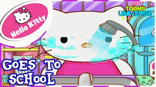 Hello Kitty Goes to School Makeover and Dress Up Game for Girls