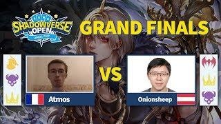 Atmos vs Onionsheep Grand Finals Euro Shadowverse Open April Cup 2019