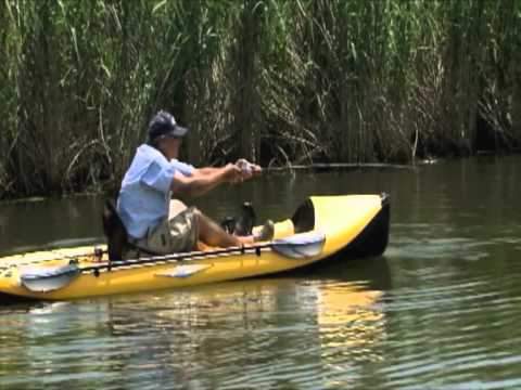 Hank Parker Fishing from a Hobie Kayak