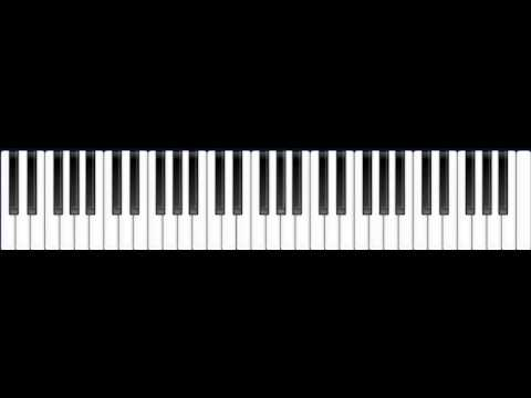 Flo Rida - Whislte on Virtual Piano with Music Sheets
