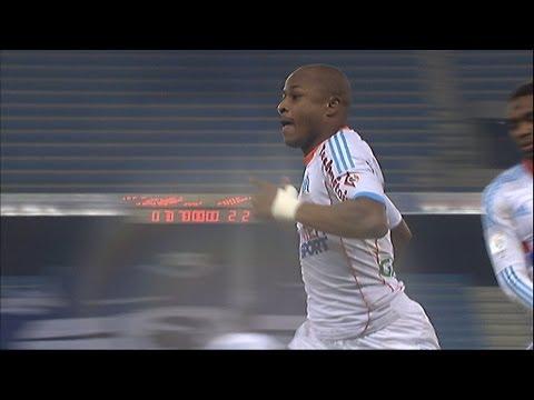 But André AYEW (70' pen) - SC Bastia - Olympique de Marseille (1-2 / 2012-13