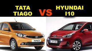 Tata Tiago XZ vs Hyundai I10 sportz