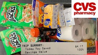 CVS Couponing | Spend $30, Get $10 | Saved $84! | 7/14 - 7/20