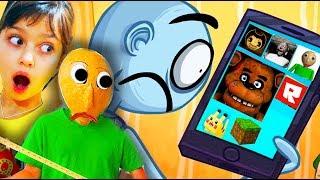 ТРОЛЛИМ БАЛДИ и ВСЕ ИГРЫ в ТРОЛЛФЕЙС! Troll Face Quest Video Games FNAF Валеришка Для Детей children