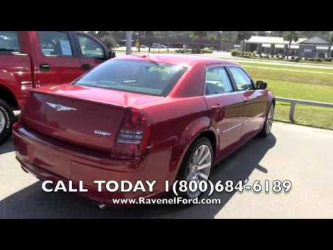 2007 CHRYSLER 300 SRT8 Review Car Videos * 6.1L Hemi DVD Moonroof * For Sale @ Ravenel Ford SC