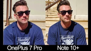 Note 10+ vs OnePlus 7 Pro Real World Camera Comparison Test!
