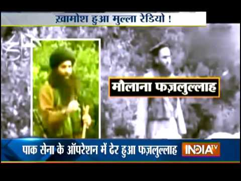 Pakistan Taliban Chief Mullah Fazlullah Killed in Air Strike - India TV