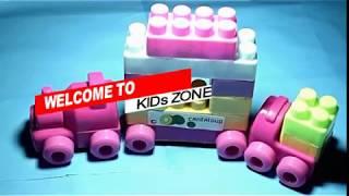 Kids playing building blocks  Baby toyes Video   Kids Zone