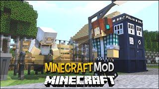 Minecraft Mod: Máquina Do Tempo ( Volte no Tempo nas Versões do Minecraft ) - The Dalek Mod