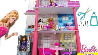 Barbie doll house DIY How To Make A Barbie Dream House