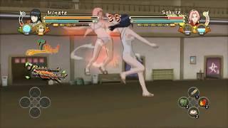 Sakura VS hinata  trajes de baño - no hentai