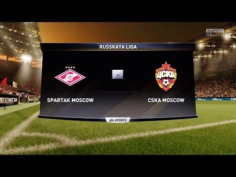 [PS4] FIFA 17. СПАРТАК - ЦСКА