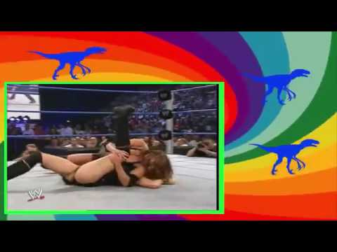Brock Lesnar Wife Sable vs  Stephanie McMahon Full Match   WWE Stephanie vs Sabl1 thumbnail